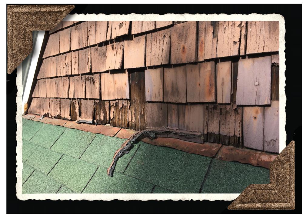 Brucemore roof in need of repair