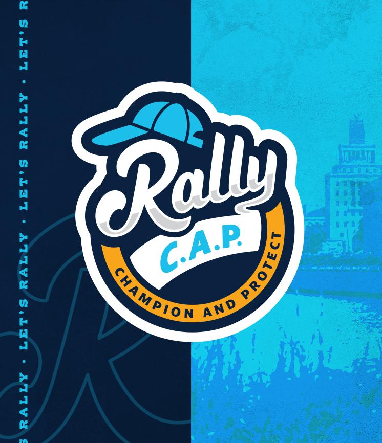 Rally C.A.P. portfolio page cover with logo