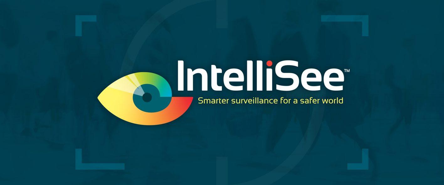 IntelliSee portfolio page header with logo