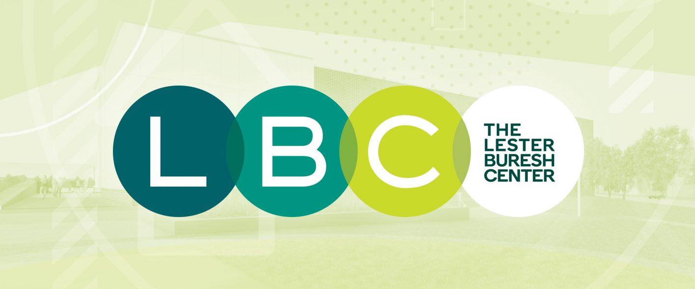 Lester Buresh Center portfolio page header with LBC logo